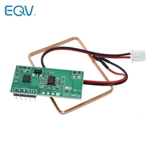 Módulo lector RFID de 125Khz, sistema de Control de acceso de salida UART RDM6300 para Arduino, los mejores precios