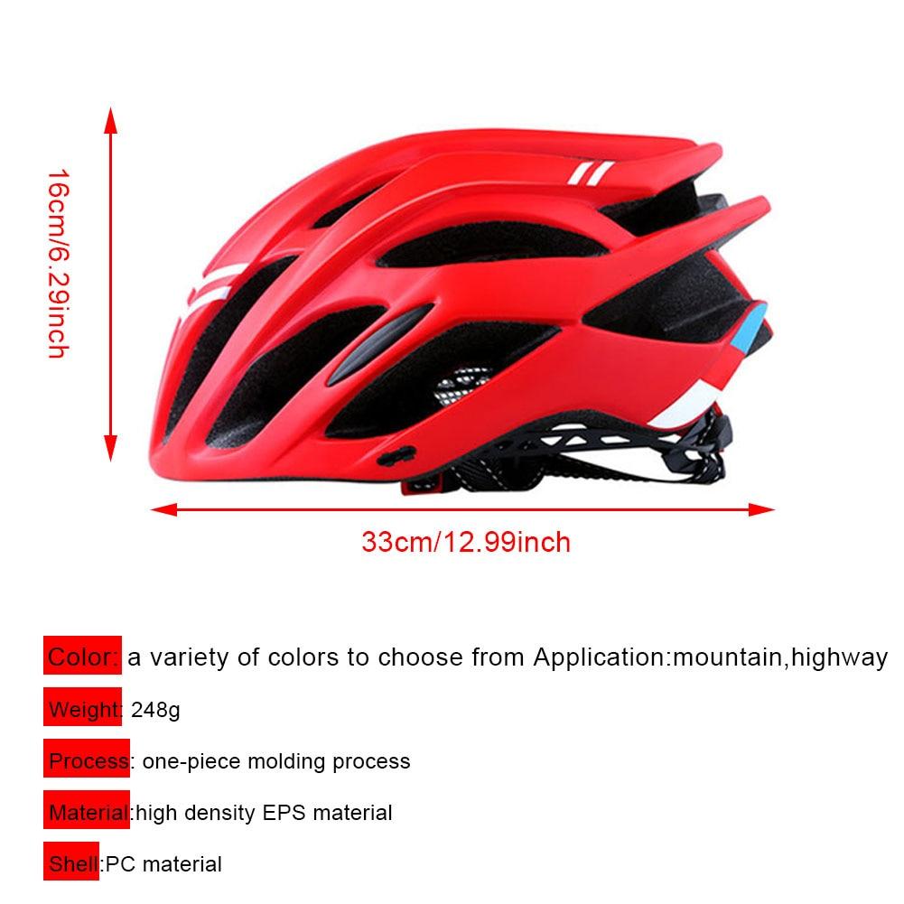 Capacete de bicicleta equipamento de equitação masculino