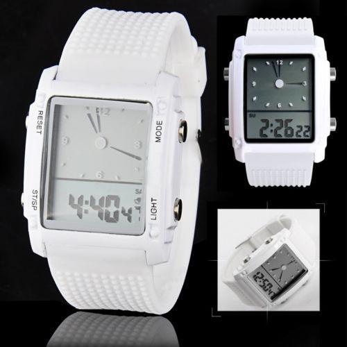 Fashion Clock Women Men Digital LED Chronograph Quartz Sport Wrist Watch Casual Relogio Digital Reloj Unisex Couple Watch
