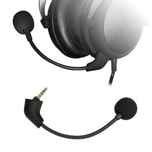 Сменные Игровые наушники Mic 3,5 мм микрофон для Kingston HyperX Cloud Alpha 2 II X Core Pro Silver Cloudx игровые гарнитуры