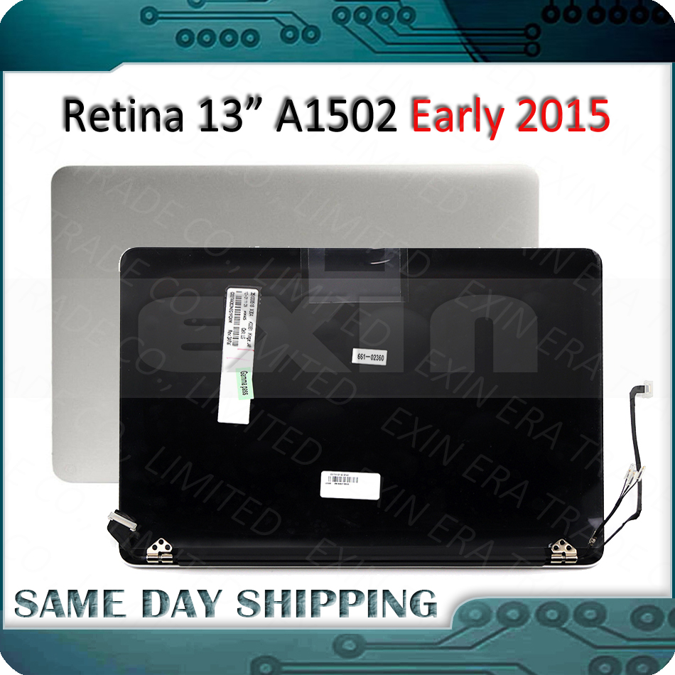 """100% Original A1502 LCD Assembly for Macbook Pro 13.3"""" A1502 LCD LED Retina Full Display Screen Assembly 2015 Year MF839  MF841-in Laptop LCD Screen from Computer & Office on"""