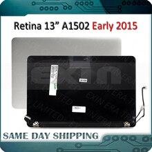 """100% original a1502 lcd assembléia para macbook pro 13.3 """"a1502 lcd led retina montagem da tela cheia 2015 ano mf839 mf841"""