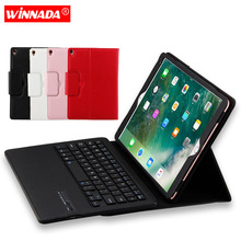 For ipad pro 10.5 case with bluetooth keyboard litchi grain PU leather Protective Cover for Apple ipad air 2019 10.5 inch coque ultra thin slim stand litchi grain pu leather skin case with keyboard station cover for lenovo yoga a12 a12 12 12 0 inch tablet