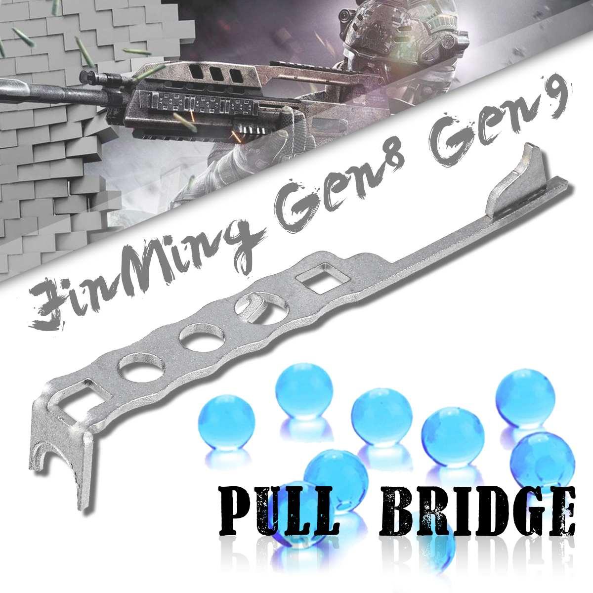 Upgrade Metal Pull Bridge For JinMing Gen8 Gen9 Gel Ball Blasters Water Games Toy Guns Replacement Accessories
