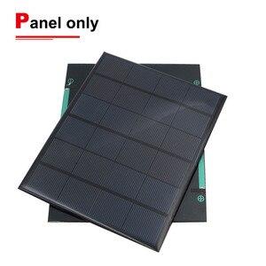 Солнечная панель 5 в 6 в 9 в 12 В 18 в фотоэлектрическая панель эпоксидная солнечная батарея 1 Вт 2 Вт 3 Вт 5 Вт 6 Вт 7 Вт 9 Вт 10 Вт зарядное устройство ...