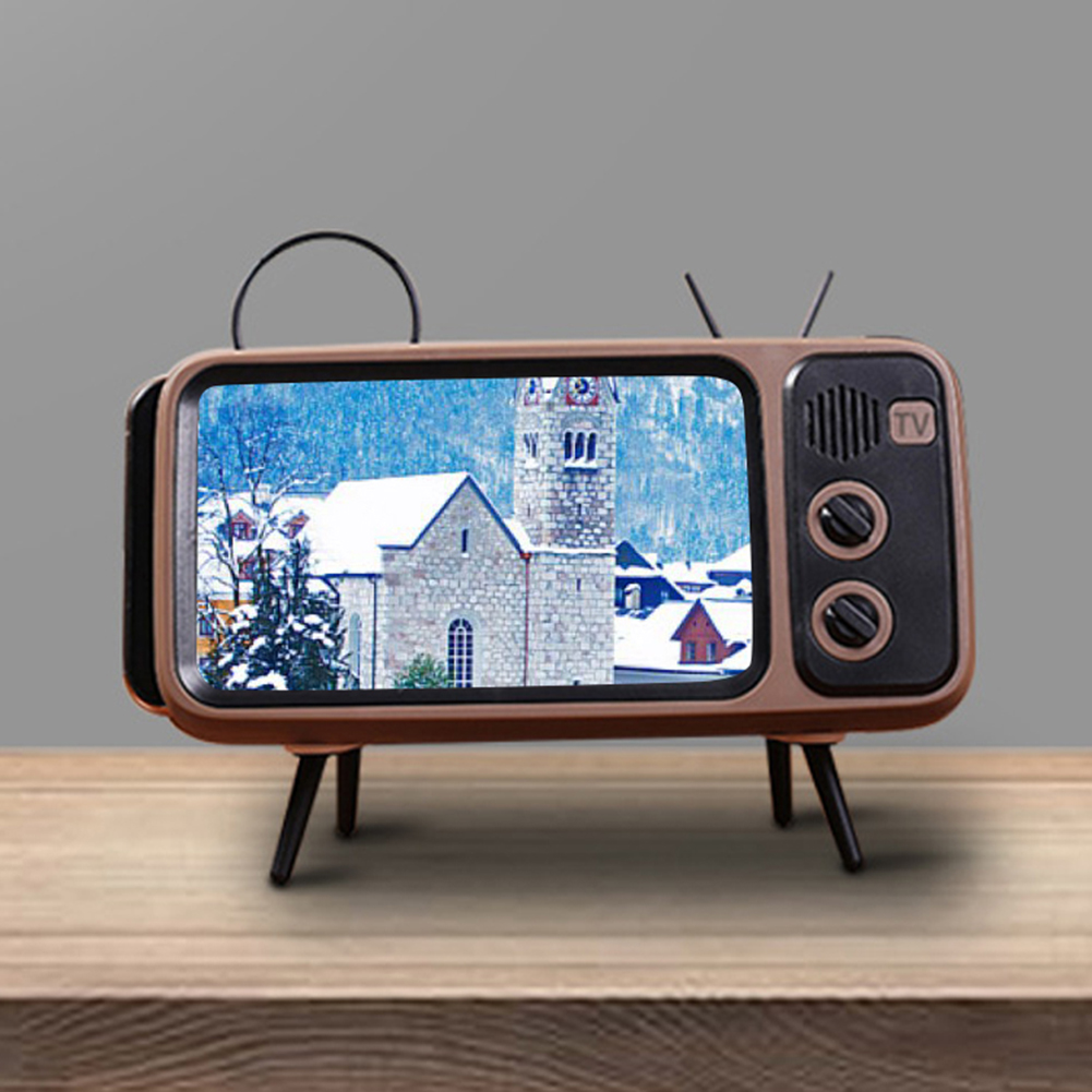Retro TV Mobile Phone Holder  3