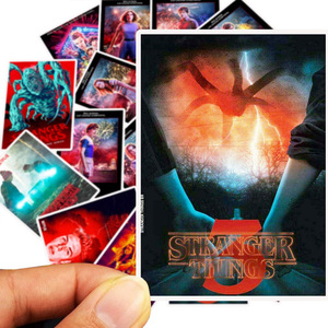 Image 4 - 50Pcs/Lot Newly TV Series Stranger Things 3 Stickers For Laptop Motorcycle Skateboard Luggage Decal Toy DIY Sticker