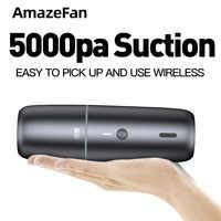 5000mA Auto Staubsauger Tragbare Wireless Handheld Auto Staubsauger Roboter für Auto Innen & Home & Computer Reinigung