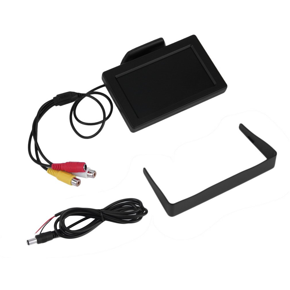 Rearview-Camera Car-Monitors Reverse-Backup LCD for DVD GPS Vehicle Driving-Accessories title=