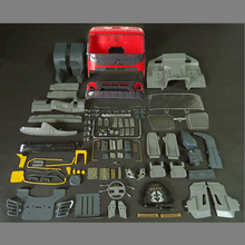 Rc צעצועי דגם מכוניות גוף מעטפת Cab סטי Fit עבור 1/14 בקנה מידה שלט רחוק צעצוע משאית Tamiya טרקטור קרוואן סקאניה בנץ איש וולוו