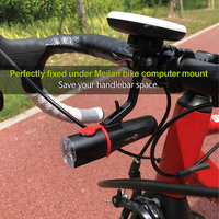 Meilan C4 City Bike Front Light Small Bicycle Light Bright Lamp Rechargeable IPX6 Waterproof Flash Light for Bicycle