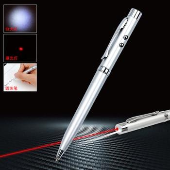Multifunction Metal Rollerball Pen Led Stationery Infrared Ballpoint Pen 1.0mm Black Refill Black Refill Advertising Products 1