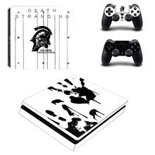 Kojima Game Death Stranding PS4 Slim Skin Sticker Decal Vinyl for Playstation 4 Console and Controllers PS4 Slim Skin Sticker