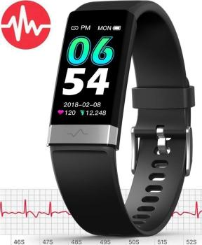 MorePro Monitor Watch,Waterproof Fitness Tracker with Heart Rate Blood Pressure Monitor, Activity Tracker with Enhanced Sleep