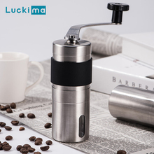 New Manual Coffee Grinder Mini Hand Conical Burr Espresso Been Mill Tools Ceramic Movement for Handmade