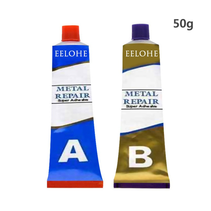 20/50/100g Hot Industrial Repair Paste Glue Heat Resistance Cold Weld Metal Repair Paste A&B Adhesive Gel 1