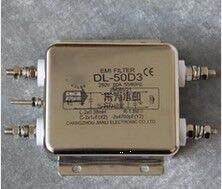 Free shipping 1pcs/lot Changzhou Jianli JIANLI power filter 250V50A DL-50D3 EMI filter