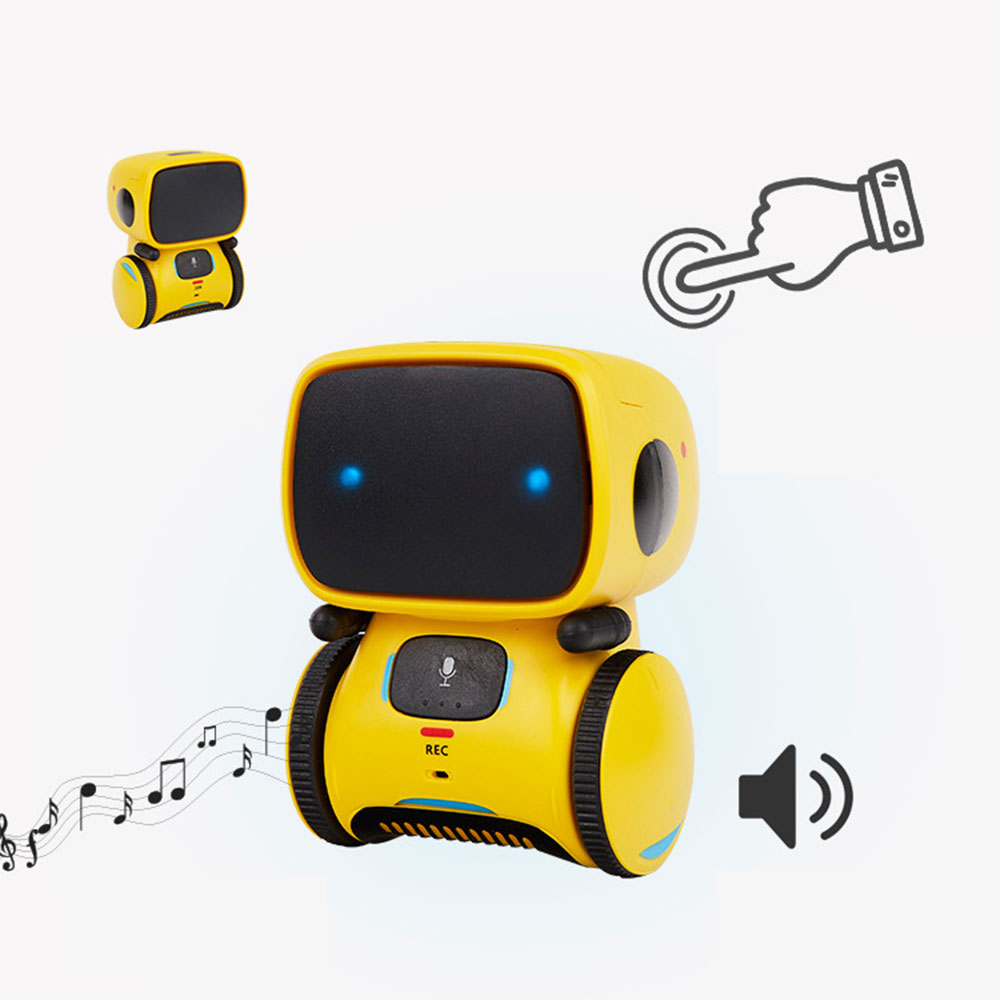 New Kids Smart Robots Voice Command Dance Sing Repeating Recorder Touch Control Toys Interactive Robot Cute Toy Gifts