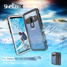 IP68 Водонепроницаемый чехол для телефона Samsung Note 20 10 9 чехол 360 Защитный чехол для Galaxy S20 Ultra S9 S10 Plus водонепроницаемый чехол