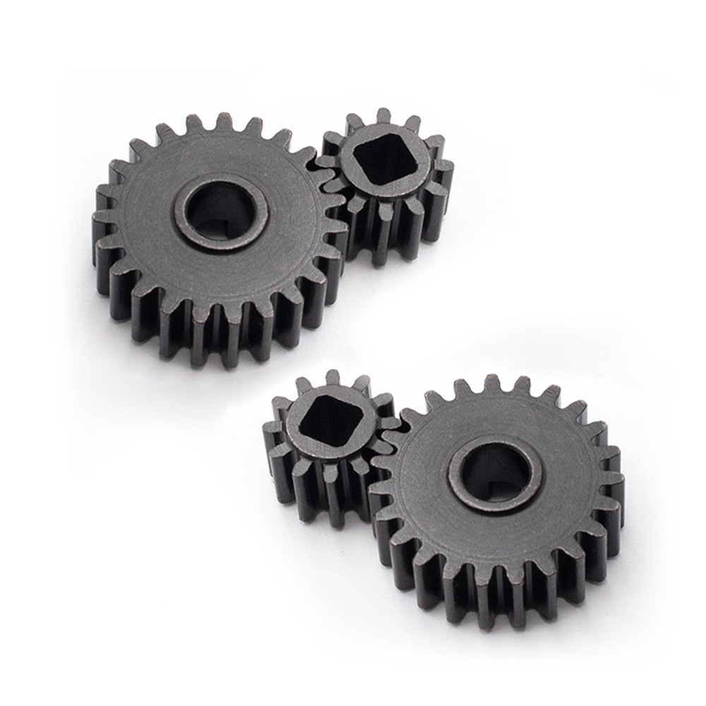 Reinforced Steel Front and Rear Gear for Axial SCX10 III AX103007 Inner Portal Axle Gear RC Car Accessories