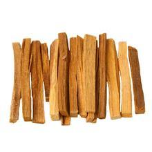 1 пакет 50 г Гуаньинь сандаловое дерево Маленькая деревянная палочка ладана неправильная Смола ладан 7 см загружен Будда слово сандаловое дерево