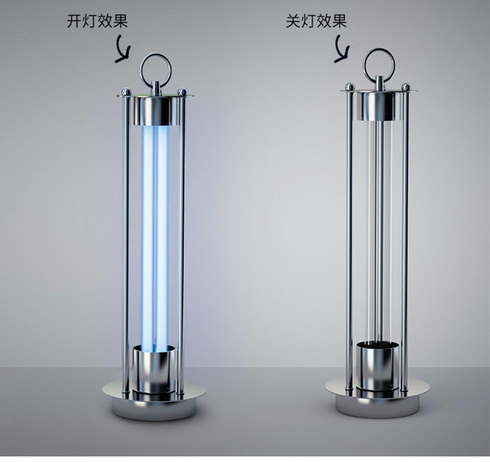 WANMING UV Disinfection Lamp with Ozone 38W 220V Ultraviolet Germicidal Deodorizer Lamp UVC Sterilizing Kill Mites viruses Light|  - title=