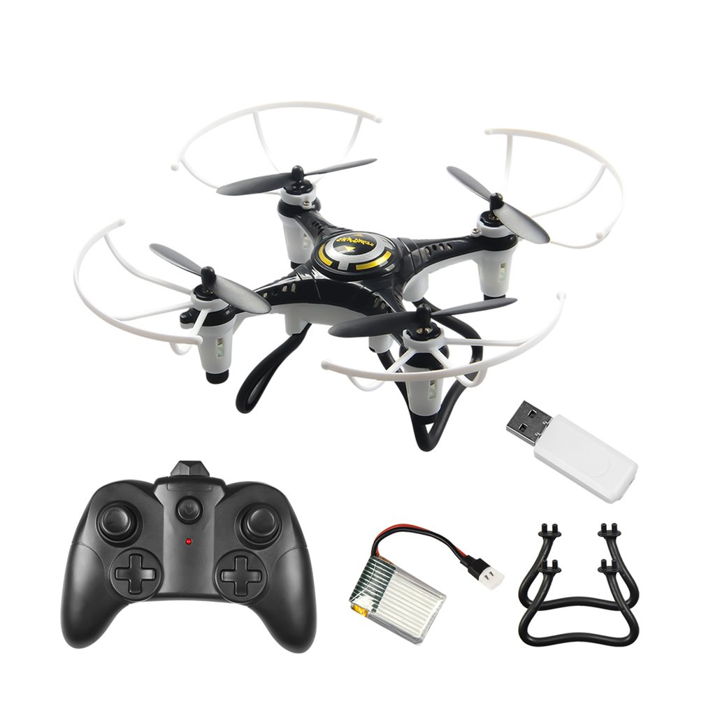 JX815 2 Mini RC Drone 2.4GHz 4 Channel Remote Control Drone 360 Rolling Headless Mode Aircraft with Tripod Gift for Children|  - title=