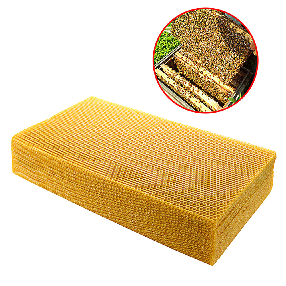 30pcs Beekeeping Tool Bee Beehive Nest Wax Beeswax Tablets Golden Bee Beeswax  for Beeworking Bee Honey Collecting|  - title=