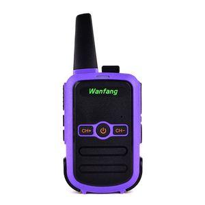 Image 5 - Walkie talkie professional mini color ultra thin ultra small USB direct charging X6HA
