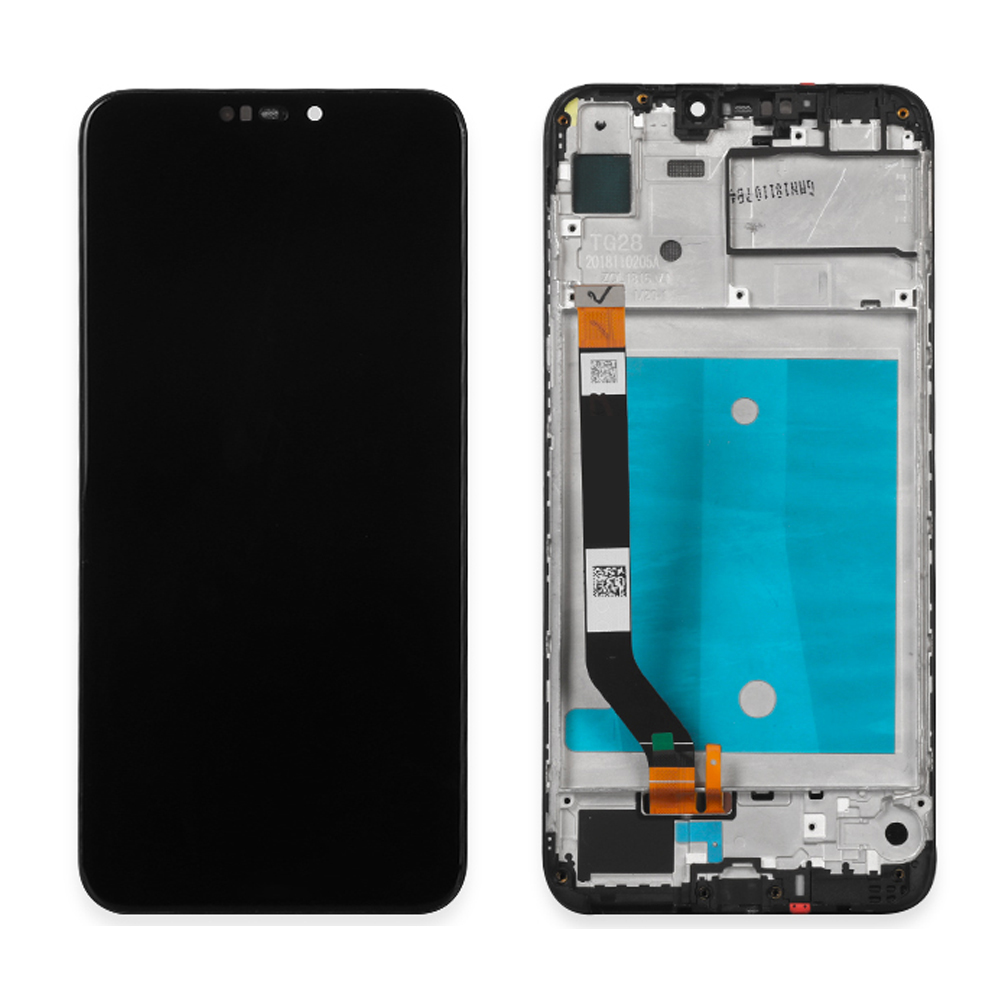 <font><b>With</b></font> Frame 6.26'' Lcd For Huawei-<font><b>honor</b></font> <font><b>8C</b></font> BKK-AL10, BKK-L21, L21 LCD <font><b>Display</b></font> <font><b>Touch</b></font> Digitizer Assembly for <font><b>honor</b></font> <font><b>8c</b></font> LCD image