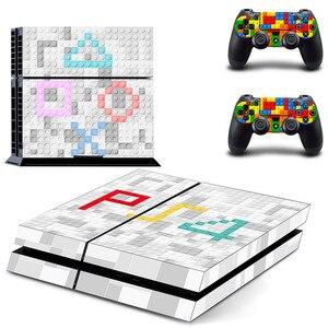 Image 1 - Özel tasarım PS4 çıkartmalar PlayStation 4 cilt PS 4 Sticker çıkartmaları kapak PlayStation 4 için PS4 konsol ve denetleyici skins