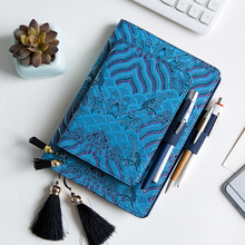 купить A5 A6 Agenda 2019 2020 Cute Diary Creative Notebook Week Study Planner Leather Bullet Journal Bible Notepad Teacher's Day Gift по цене 725.32 рублей