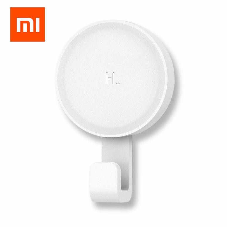 Xiaomi mi mijia hl粘着フック強力な浴室寝室の台所の壁フック 3 キロ最大荷重アップフックセットxiomiハッピーライフxaomi