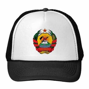 Mozambique Africa National Emblem Trucker Hat Baseball Cap Nylon Mesh Hat Cool Children Hat Adjustable Cap Gift недорого
