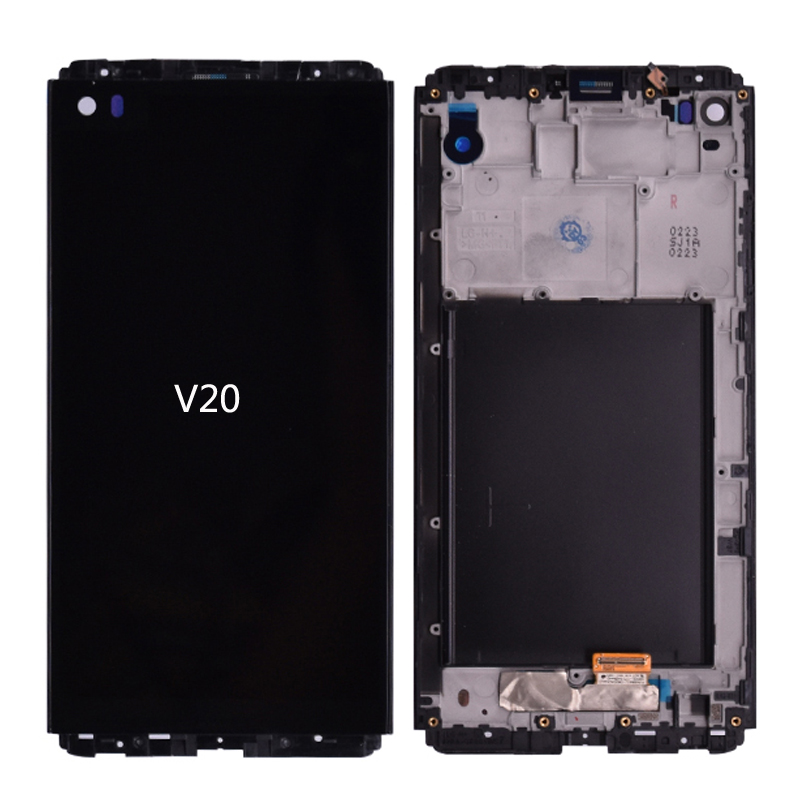 5.7'' 2560 X 1440 For LG V20 VS995 VS996 LS99 F800 LCD Display With Touch Screen Digitizer Assembly With Frame Free Shipping