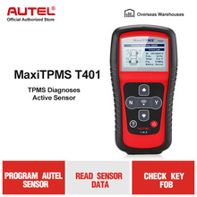 Sensor de presión de neumáticos AUTEL MaxiTPMS TS401 herramienta de activación TPMS herramientas para 98% sensores de presión de neumáticos herramientas de activación