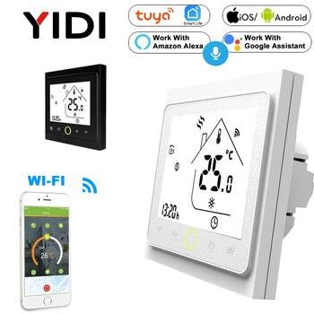 Smart WIFI Touch Thermostat Water Electirc Floor Heating Gas Boiler Temperature Controller App Voice Control Alexa Google