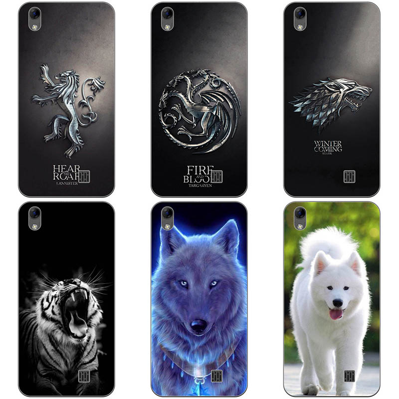 Case For <font><b>HomTom</b></font> HT16 Cute Animal Printing Drawing Patterned Silicone Soft Shell For <font><b>HomTom</b></font> HT16 HT <font><b>16</b></font> <font><b>Pro</b></font> Case Phone Back Cover image