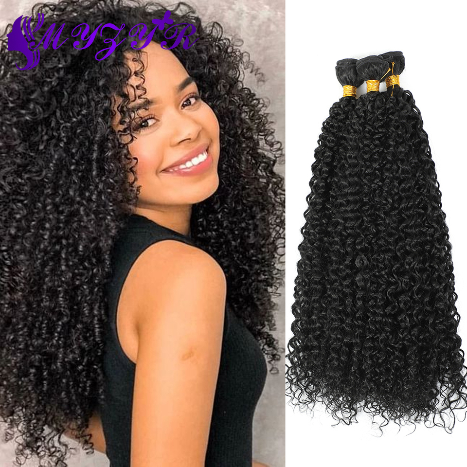 Zyr Kinky Curly Synthetic Ombre Hair Bundles 8 30inches 100g Pcs High Temperature Hair Wigs For Women Afro Curly Hair Extension Synthetic Weave Aliexpress