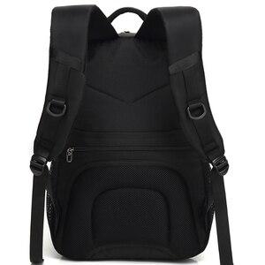 Image 5 - VORMOR 2020 yeni moda erkekler sırt çantası çok fonksiyonlu su geçirmez 15.6 inç Laptop çantası adam USB şarj okul seyahat çantası