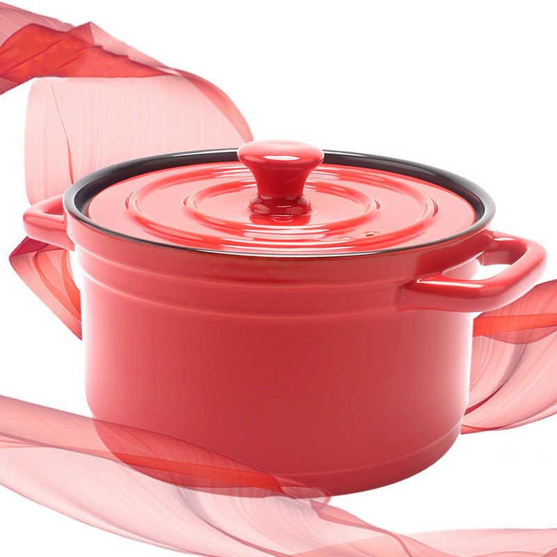 セラミックキャセロール鍋シチュー鍋国内エナメル健康スープポット直火耐熱マルチ容量セラミック鍋カスタマイズ