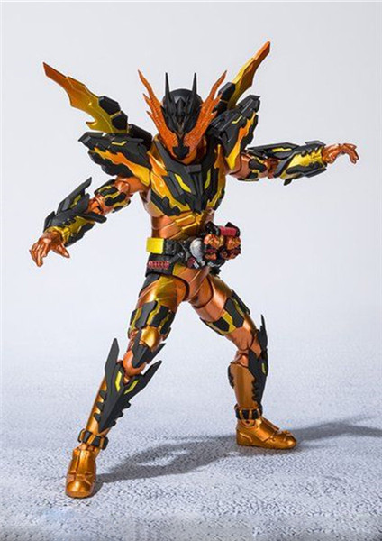 Image 3 - 16cm Kamen Rider Cross z Magma Action Figures Super Movable Joints Masked Rider Collectible Model Toys Kids Gift Pvc FigurinesAction & Toy Figures   -