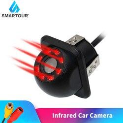 Smartour Auto Rückansicht Kamera Zurück Up Kameras Nachtsicht Rückfahr Auto Parkplatz Monitor CCD Wasserdichte 140 Grad HD Video