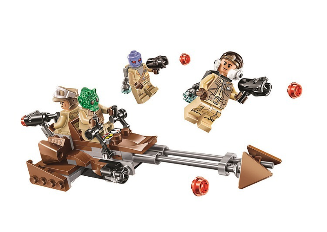 Bela 10572 125pcs Rebel Alliance Model Building Block Bricks Compatible With Lepining Star Series Wars