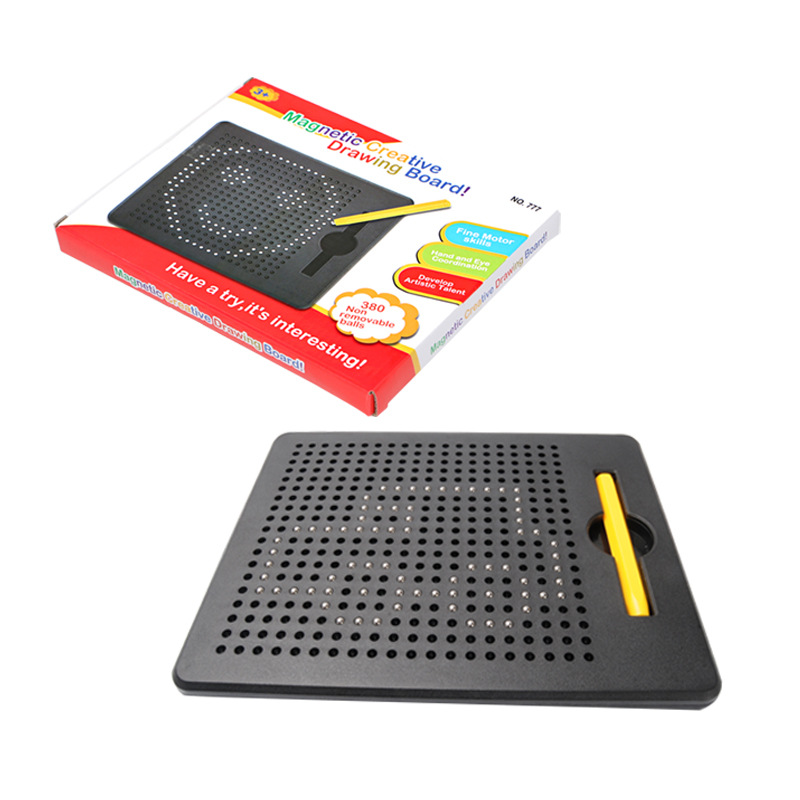 New Style Children'S Educational Early Childhood ENLIGHTEN Learning Magnetic Steel Ball Drawing Board Creative Parent And Child