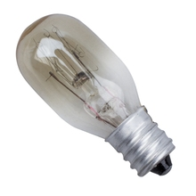 220-240V 15W T20 Одиночная Вольфрамовая Лампа E14 винтовая Базовая лампа для холодильника