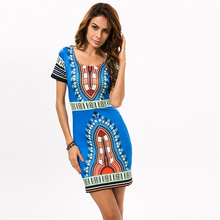 Women tight-fitting Classic Printed High Elasticity Bottom Dresses with Tight Ethnic Style JQ-10011