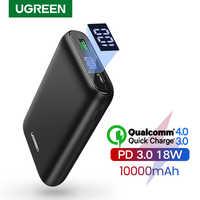 Ugreen Accumulatori e caricabatterie di riserva 10000mAh Carica Rapida 4.0 3.0 QC3.0 Esterno Batteria Mobile Veloce PD del Caricatore per il iPhone 11 8 Xs mini Powerbank