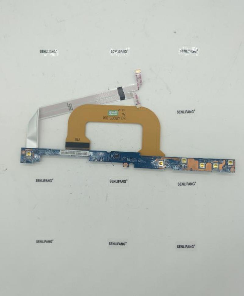 04W3901 For Lenovo THINKPAD X1 CARBON TYPE 34XX Power Board Button PCB Subcard LED 6M.4RQBD.002