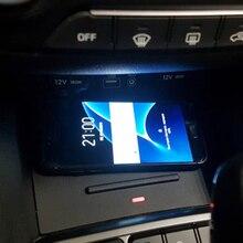 Per Hyundai IX25 Creta Cantus 2017 2018 2019 2020 10W car charger QI wireless caricatore del telefono mobile piastra di ricarica accessori